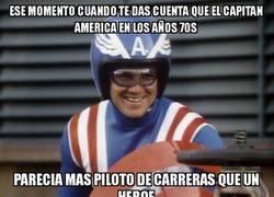 Enlace a El Capitán América de los años 70