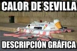 Enlace a Y por eso no hay manera de tomarse un helado en Sevilla