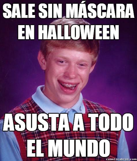 Bad_luck_brian - Fracaso inesperado en Halloween