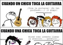 Enlace a El guitarreo no es igual para hombres que para mujeres