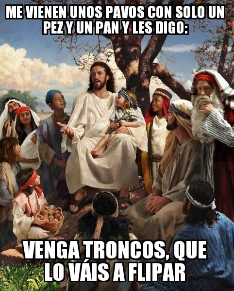 Meme_otros - Jesús ahí enrollándose con las mates