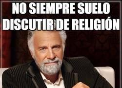 Enlace a No se puede opinar en contra de la religión por eso