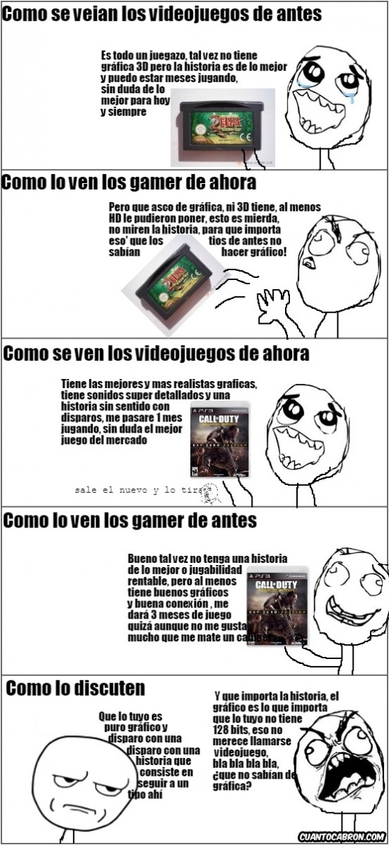 Kidding_me - Un choque entre gamers de diferentes formas de ver los videojuegos