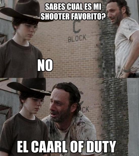 Zombie - El juego favorito de Rick