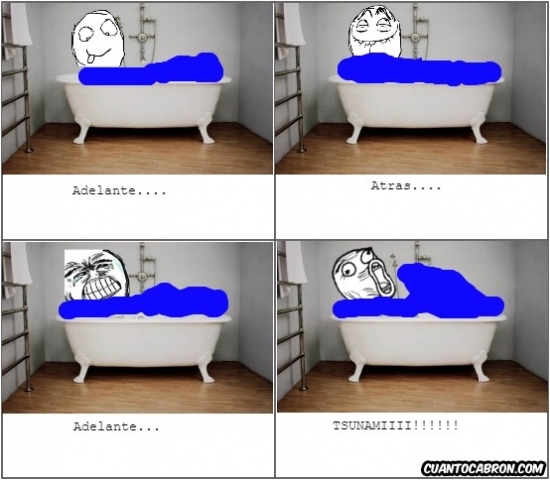 Lol - El tsunami de la bañera