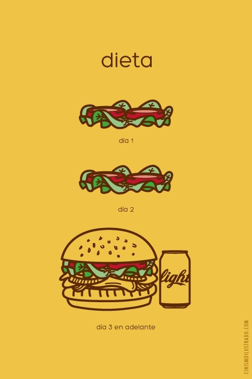Meme_otros - La realidad de la dieta