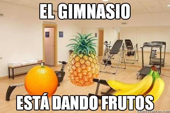 Meme_otros - Mientras tanto, en el gimnasio