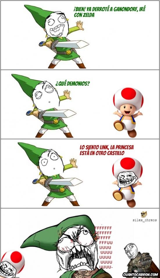 Ffffuuuuuuuuuu - Ahora ya sabes lo que sentía Mario