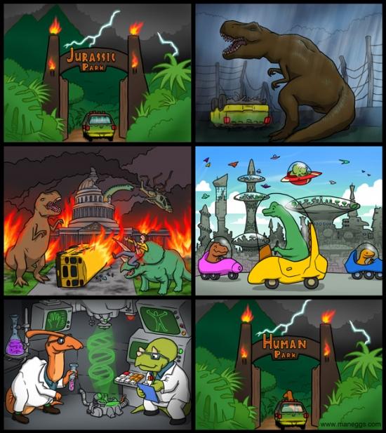 Otros - 2000 años después de lo ocurrido en Jurassic World
