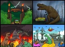 Enlace a 2000 años después de lo ocurrido en Jurassic World