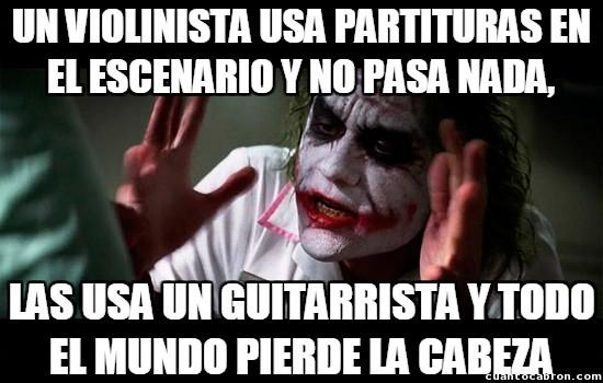 Joker - Todo depende del instrumento