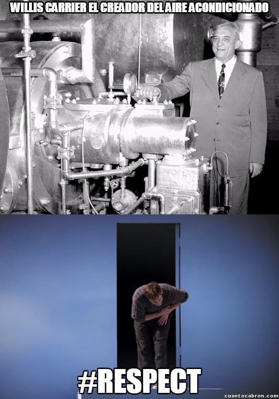 Meme_otros - Le debemos mucho a Willis Carrier
