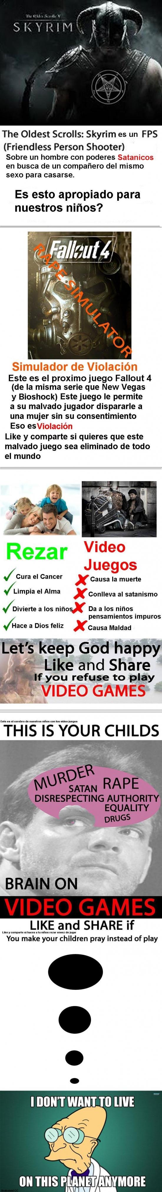 Meme_otros - Religión y videojuegos, una relación difícil de llevar