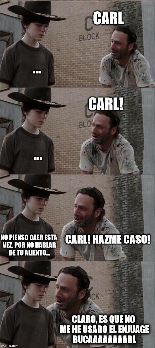 Meme_otros - Esta vez no iba a ser una excepción, Carl