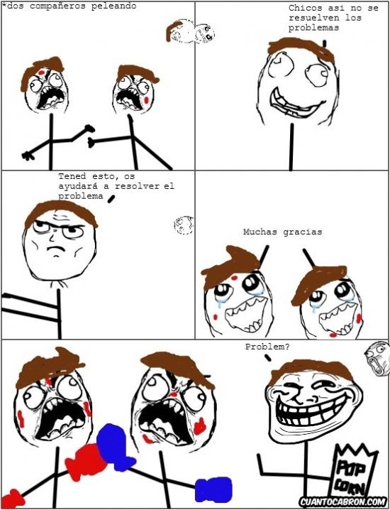 Trollface - El solucionador de problemas