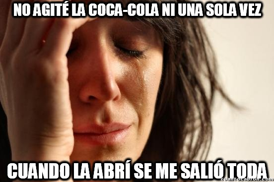 First_world_problems - La Coca-Cola más troll de todas