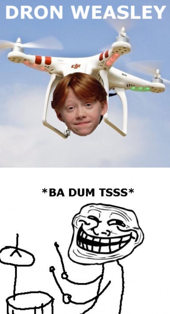 Trollface - El mejor dron que he visto