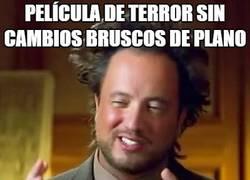 Enlace a No es un película de terror si...
