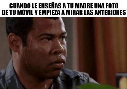 Meme_otros - La situación más tensa e incómoda con tu madre
