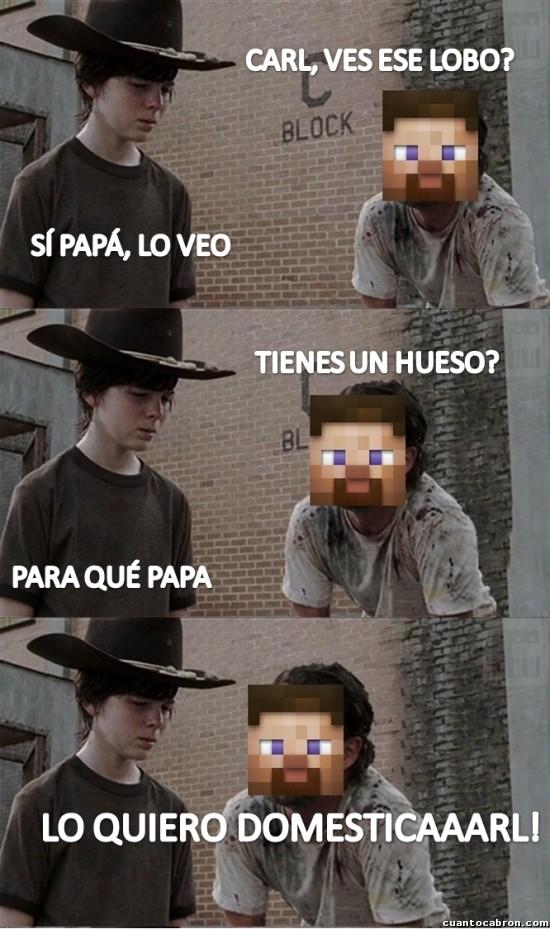 Meme_otros - Las aventuras de Carl y Steve