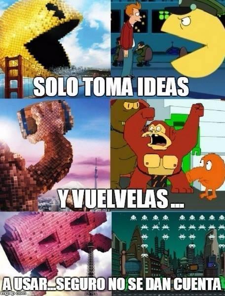 Meme_otros - El plagio hasta en Futurama