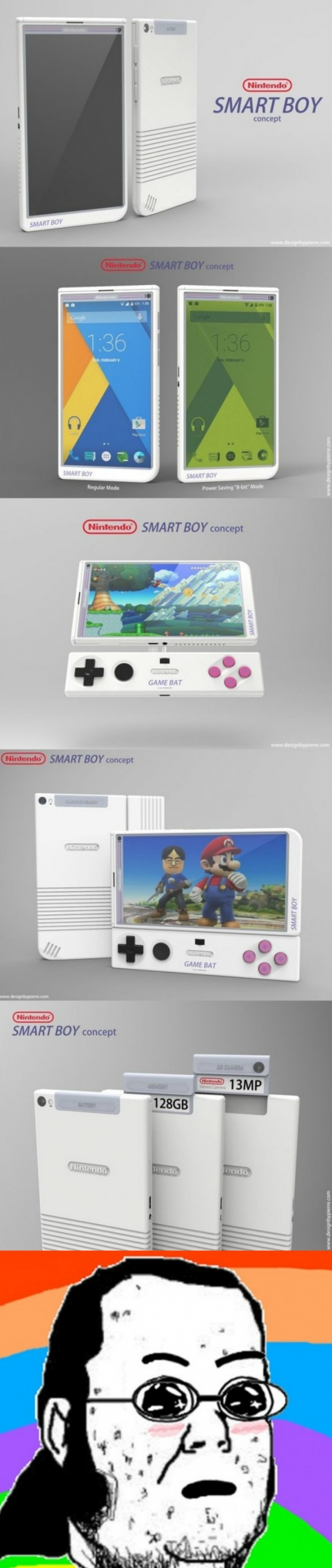 amazed,consola movil,frikis,juegos,keep calm que es prototipo,nintendo,perfecta para gamers,smart boy,telefono
