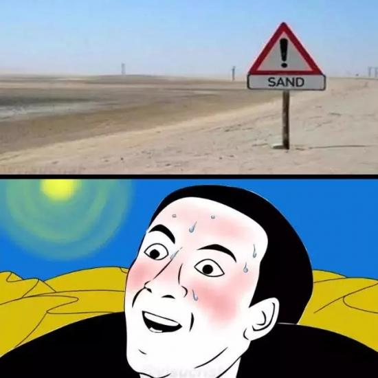 alerta,arena,cartel,desierto,no lo hubiera visto si no me lo dicen,ojo peligro,sand,warning