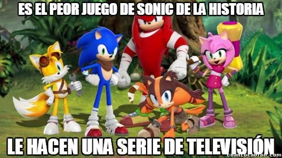 Meme_otros - Oficialmente podemos dar a Sonic por perdido