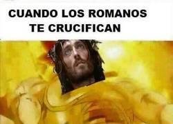Enlace a Cuando te crucifican...