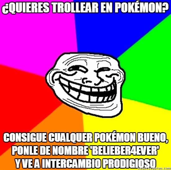 Meme_trollface - Provocar el dilema más terrible como parte de un trolleo