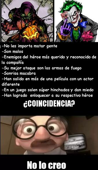 Meme_otros - ¿Coincidencia de villanos o destino paralelo?