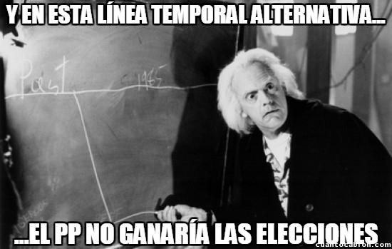 Meme_otros - La línea temporal imposible en España