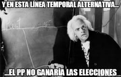 Enlace a La línea temporal imposible en España