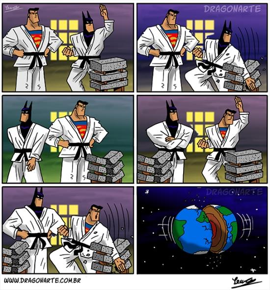 Otros - Y por eso es mejor que Superman no practique artes marciales