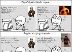 Enlace a Cuando traduces literalmente una palabra en inglés o en español