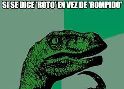 Enlace a Duda lingüística castellana
