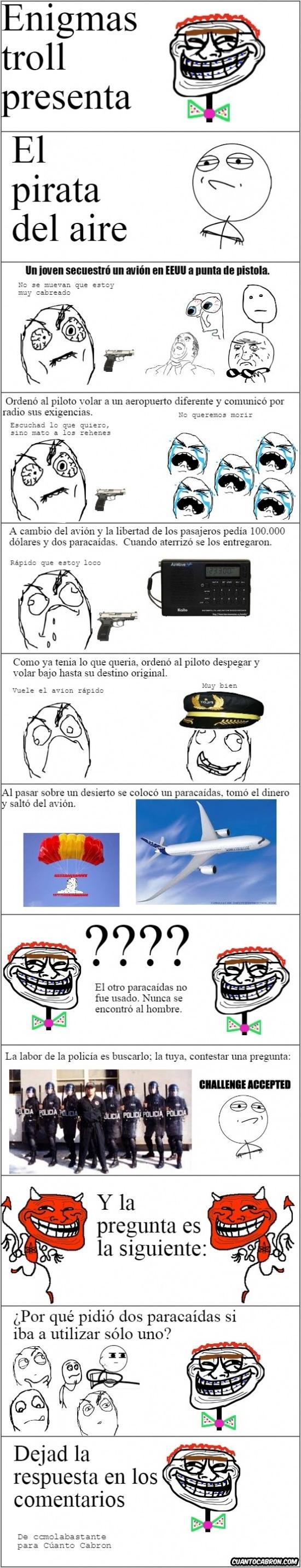 Trollface - El misterio del pirata del aire