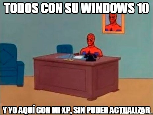 Spiderman60s - Windows 10, nunca serás mío...