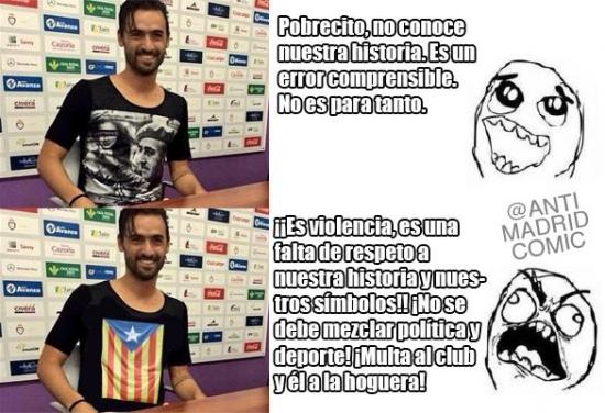Otros - El caso del futbolista presentado con la camiseta de Franco no es para tanto