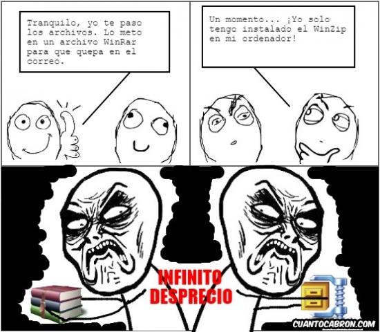 Infinito_desprecio - Da igual que sean compatibles, siempre serán enemigos