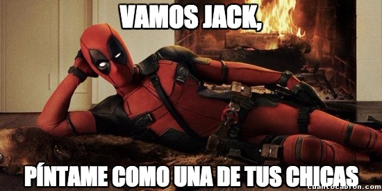 Meme_otros - Sensual y estúpido Deadpool