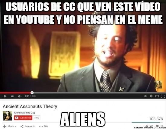 Ancient_aliens - Cosas que ya no puedes asociar a otra cosa que no sean memes