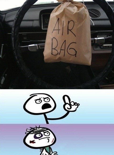 air bag,colisión,daño,desastre