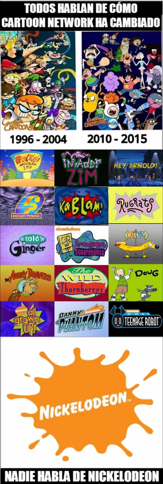 Meme_otros - No sólo Cartoon Network ha cambiado