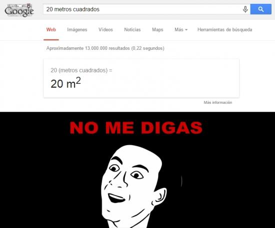 No_me_digas - 20 metros cuadrados son...