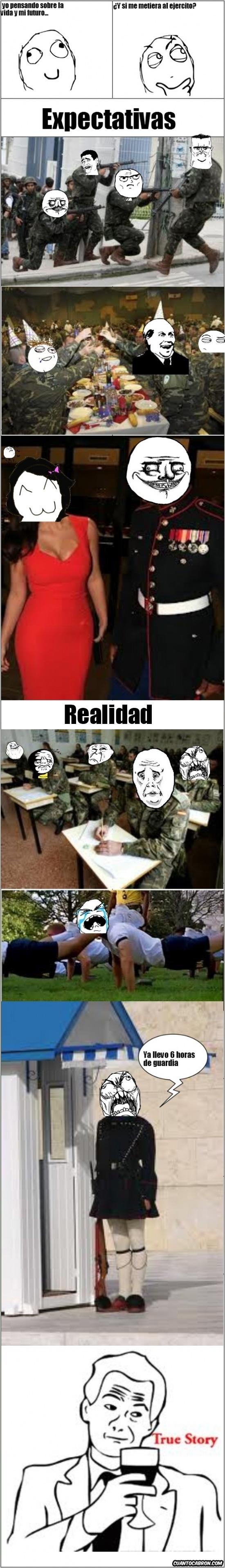 Ffffuuuuuuuuuu - ¿Vida militar?