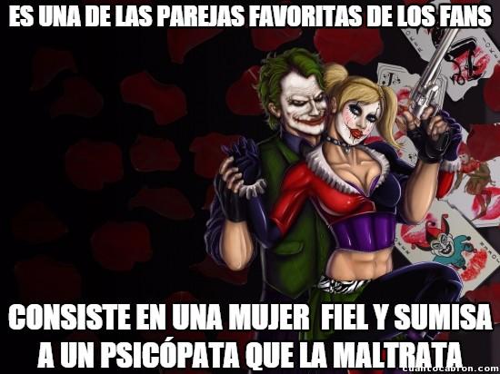 Meme_otros - La pareja más ''romántica'' de los cómics no son el mejor ejemplo a seguir
