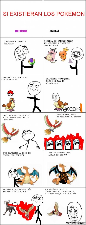 Okay - Si los Pokémon existiesen en realidad