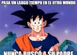 Enlace a Digamos que Goku nunca ha tenido un sentido familiar muy desarrollado