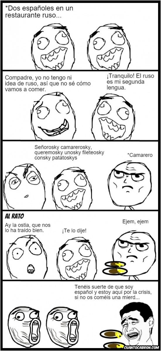 Lol - El ruso es mi segunda lengua
